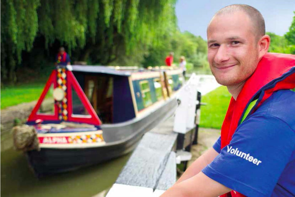 Volunteer from the Canal and River Trust