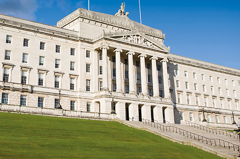 Image of Stormont Parliament Buildings