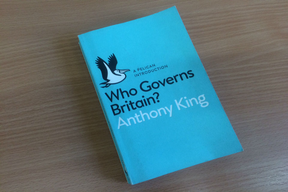Who Governs Britain? by Anthony King