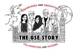 Cartoon of The GSE Story