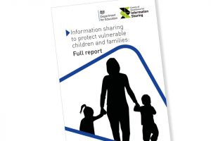 Front page of Department for Education report