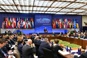 International conference scene