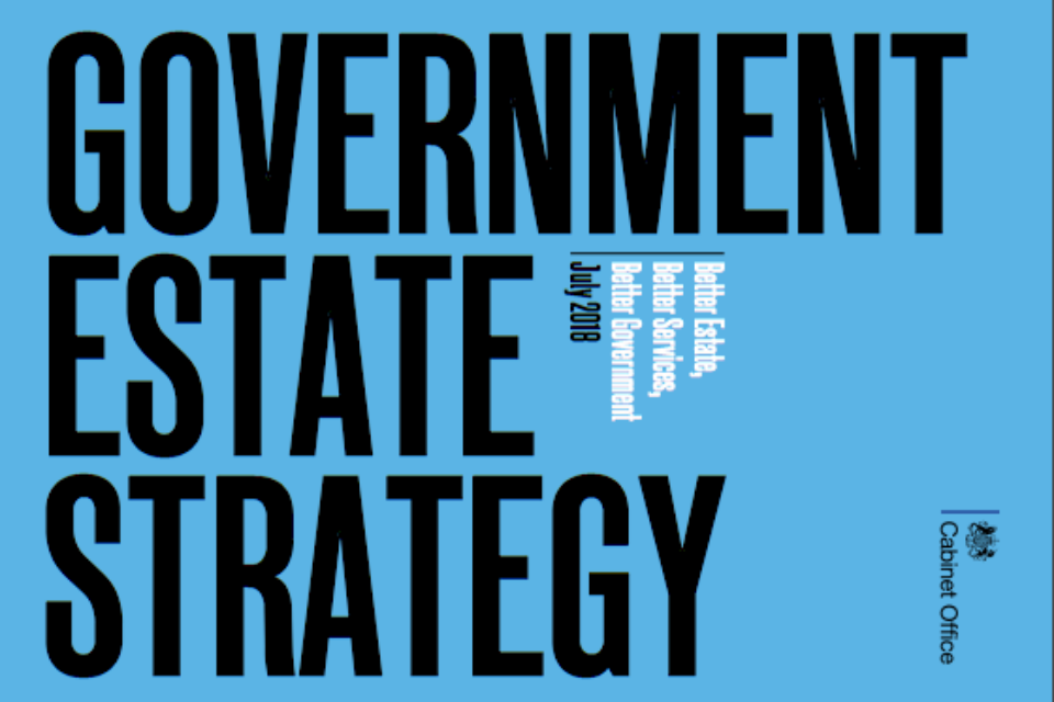 Front cover of Government Estate Strategy