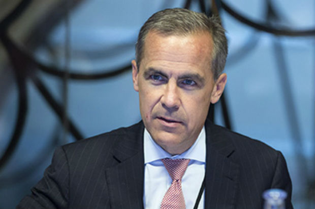Mark Carney, Governor of the Bank of England, attending a monetary policy committee briefing on his first day at the Bank on 1 July 2012.