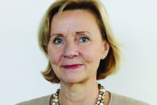 Portrait image of the former Finnish Ambassador to the UK Päivi Luostarinen