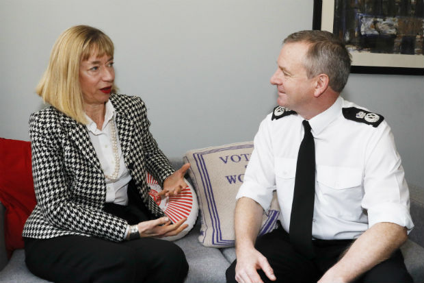 Leslie Evans in conversation with Iain Livingstone, Chief Constable of Police Scotland