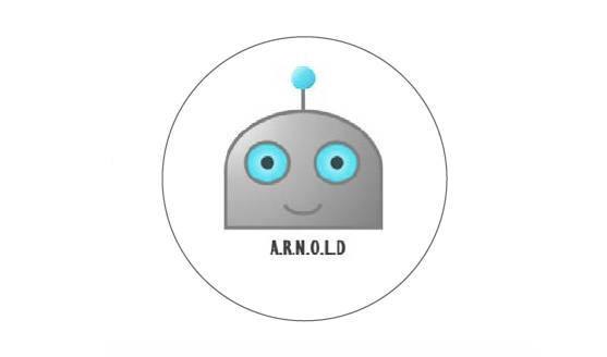 Cartoon characterisation of ARNOLD the robotic process automation program